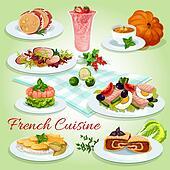 Clipart - französische küche, symbol, für, restaurant menü, design ... | {Französische küche clipart 19}