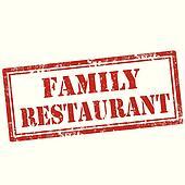 Family restaurant Clipart and Illustration. 250 family ...