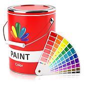 clipart peintre en b timent pinceau bidon peinture k6352031 recherchez des clip arts des. Black Bedroom Furniture Sets. Home Design Ideas
