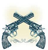 Hand gun Clip Art and Illustration. 862 hand gun clipart ...