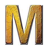 Banque d 39 illustrations m tallique model lettre de allemand gothique alphabet font - Melangeur de lettres ...