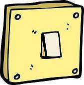 Clip art of cartoon light switch k20794577 search clipart cartoon light switch sciox Gallery