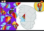 clip art hei luft ballon karikatur abbildung k18982789 suche clipart poster. Black Bedroom Furniture Sets. Home Design Ideas
