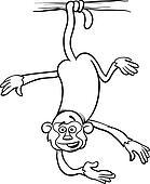 Clipart of xerus animal cartoon
