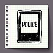 Polizeiwache clipart  Clipart - polizeiwache, gekritzel k33142120 - Suche Clip Art ...