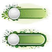 Japansk spill med golf
