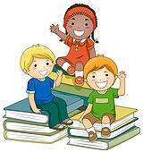 Bücherei clipart  Stock Illustration - puzzel, kinder k4605518 - Suche Clip Art ...