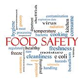 Drawing of Food Safety 3D cube Word Cloud Concept ...