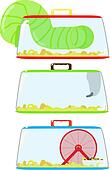 Hamster Clip Art - Royalty Free - GoGraph  |Hamster Ball Clipart