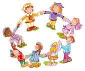 Kinderkreis clipart  Kinderkreis Clipart ~ Dekoration, Inspiration Innenraum und Möbel ...