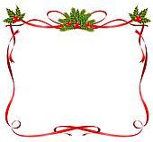 stock illustration weihnachten rahmen von b nder. Black Bedroom Furniture Sets. Home Design Ideas