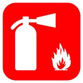 Clip Art Fire Extinguisher Clipart clipart of fire extinguisher vector sign k10540363 search clip extinguisher