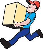 Delivering package Stock Illustrations. 2,846 delivering ... Package Delivery Clipart