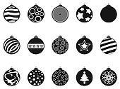 clipart weihnachtskugel schwarz wei linie heiligenbilder k22103221 suche clip art. Black Bedroom Furniture Sets. Home Design Ideas