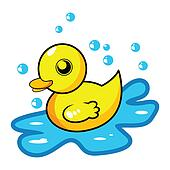Rubber duck illustrations and clip art 168 rubber duck royalty free