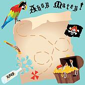 ahoy matey clip art eps images 2 ahoy matey clipart