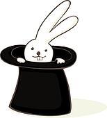 Clipart of Black Magic Hat vector k15670684 - Search Clip ...