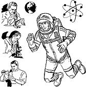 K9458390 likewise  on vector vintage science graphics 9458392