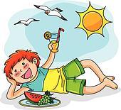 Clipart Summer Vacation