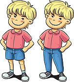 Clip Art of Naughty boy k7566858 - Search Clipart, Illustration Posters, Drawings, and ...