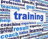 Clip Art of Training message conceptual design k10661212 - Search ...