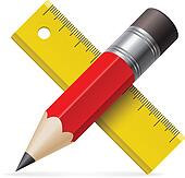 Vector pencil ruler paper Illustrations and Stock Art. 528 ...