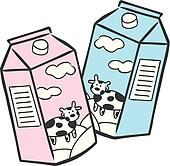 Dairy Cow Coloring Page Milk Clipart EPS Image...