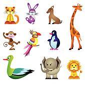 Clip art giocattoli con animali per bambini - Clip art animali marini ...