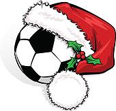 clipart weihnachten football k9399005 suche clip art. Black Bedroom Furniture Sets. Home Design Ideas