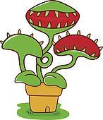 Venus flytrap Clipart Royalty Free. 7 venus flytrap clip ...