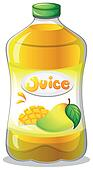 Clipart of A bottle of juice k12800322 - Search Clip Art ...