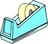 Clipart of Adhesive tape dispenser k13259182 - Search Clip ...