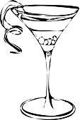 clip art vektor von cocktail alkohol getr nk k13823756 suche clipart poster. Black Bedroom Furniture Sets. Home Design Ideas