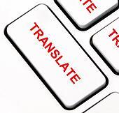 Clip Art of Translate keyboard key k13876352 - Search ...