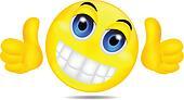 Clip Art - smiley, emoticon, zwaaiende, hand k12850309