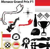 Drawings of Bahrain F1 Formula 1 Racing Circuit Map k9196324 ...
