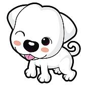 Cute Puppy Clip Art - More information
