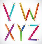 字母表图片