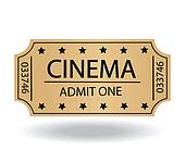Clipart of cinema tickets k15486530 - Search Clip Art ...
