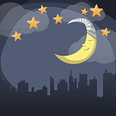 Good night Clipart and Stock Illustrations. 455 good night vector EPS ...