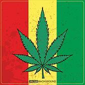 Clipart cannabis pousse feuilles k14663126 recherchez des cliparts des illustrations des - Dessin feuille cannabis ...
