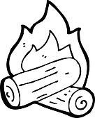 clipart dessin anim feu bois k15562792 recherchez des clip arts des illustrations des. Black Bedroom Furniture Sets. Home Design Ideas