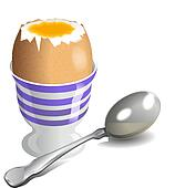 Boiled egg Stock Illustration Images. 431 boiled egg ...