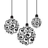clipart christbaumkugeln k4554341 suche clip art illustration wandbilder zeichnungen und. Black Bedroom Furniture Sets. Home Design Ideas