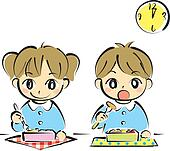 Clipart of Canteen Kids k16862633 - Search Clip Art, Illustration ...