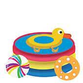 pool toy clip art and illustration 163 pool toy clipart
