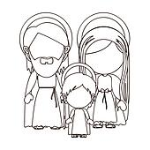 Holy family Clip Art and Stock Illustrations. 328 holy ...