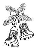 clipart weihnachten tannenbaum piktogramm k5071653 suche clip art illustration wandbilder. Black Bedroom Furniture Sets. Home Design Ideas