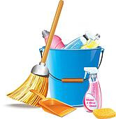 Cleaning supplies Clip Art EPS Images. 1,077 cleaning ...