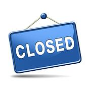 Image result for closed sign images